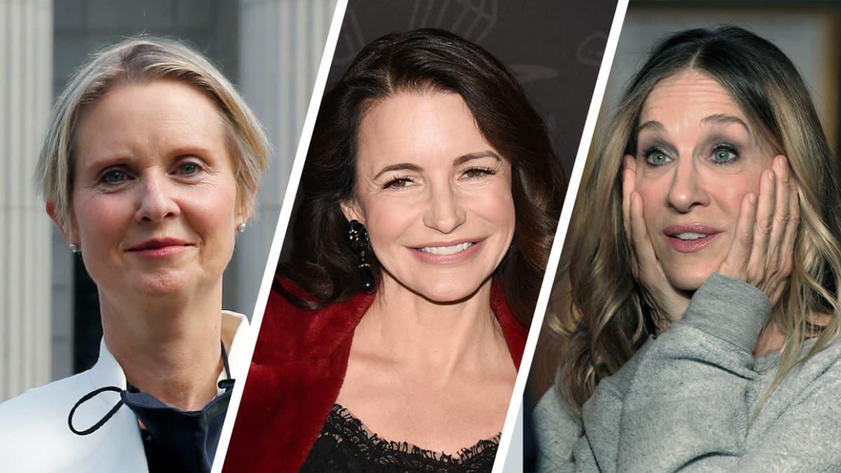 Cynthia Nixon,  Kristin Davis, Sarah Jessica Parker