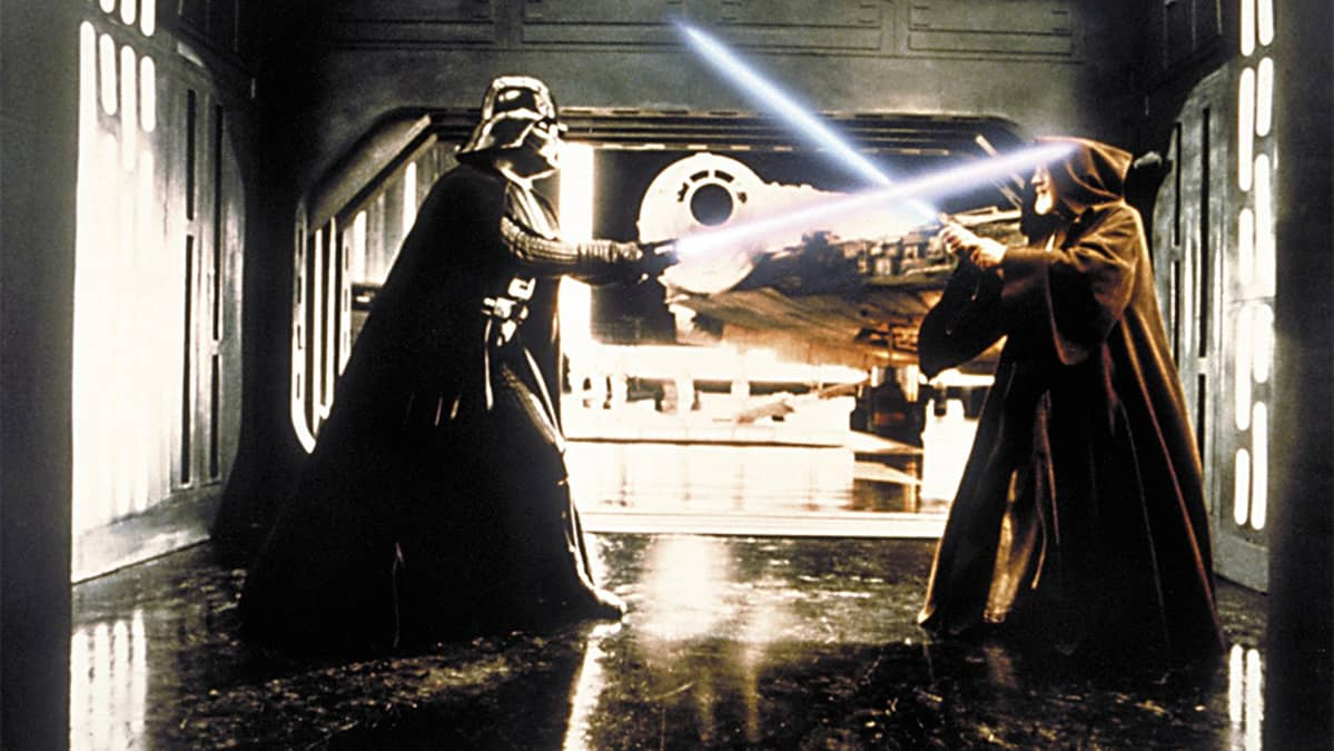Kuva elokuvasta Tähtien sota IV - Uusi toivo.