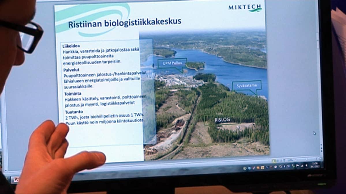 Suunnitelma biologistiikkakeskuksesta