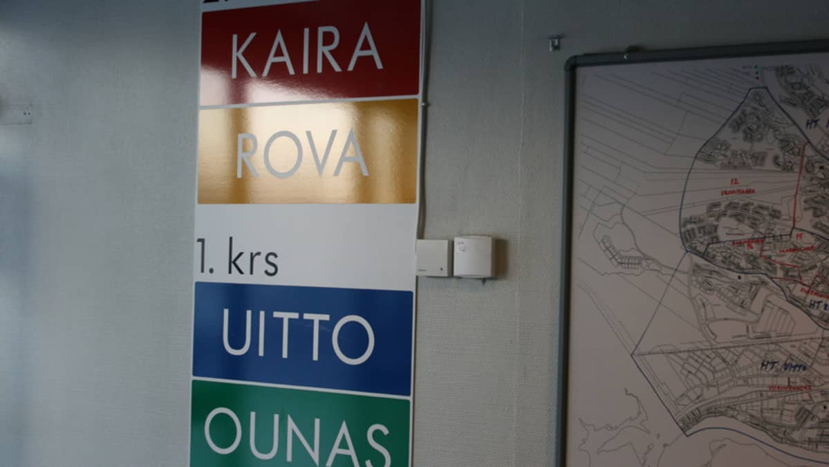 Rovaniemen terveyskeskustiimit Sairaalakadun terveysasemalla.