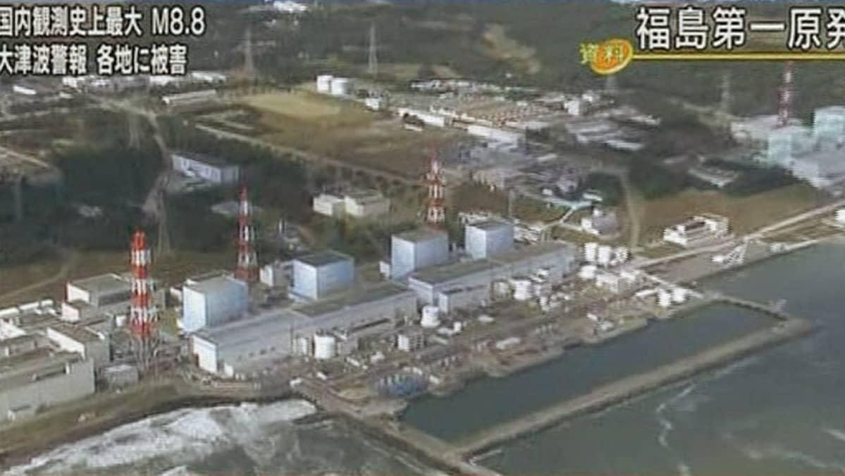 Ilmakuva ydinvoimalasta.