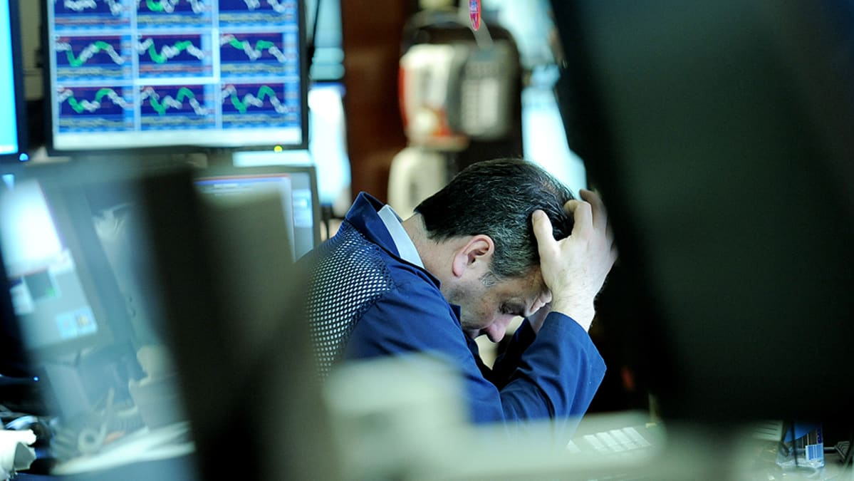 Pörssimeklari New Yorkin pörssissä.