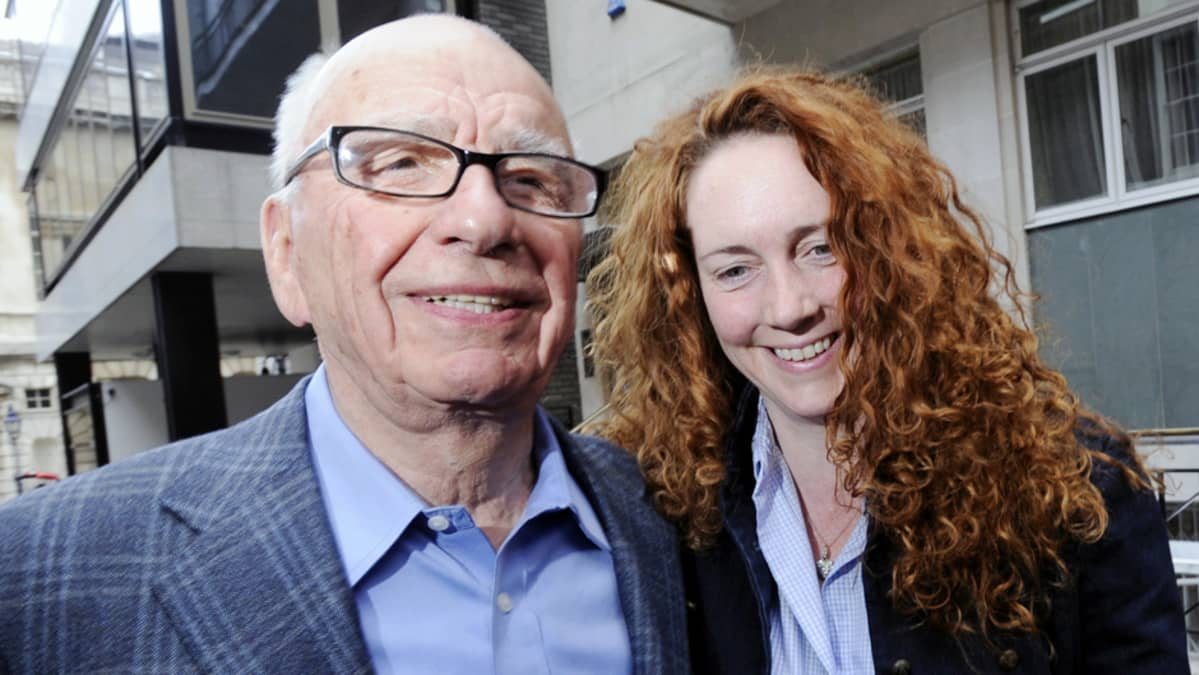 Rupert Murdoch ja Rebekah Brooks