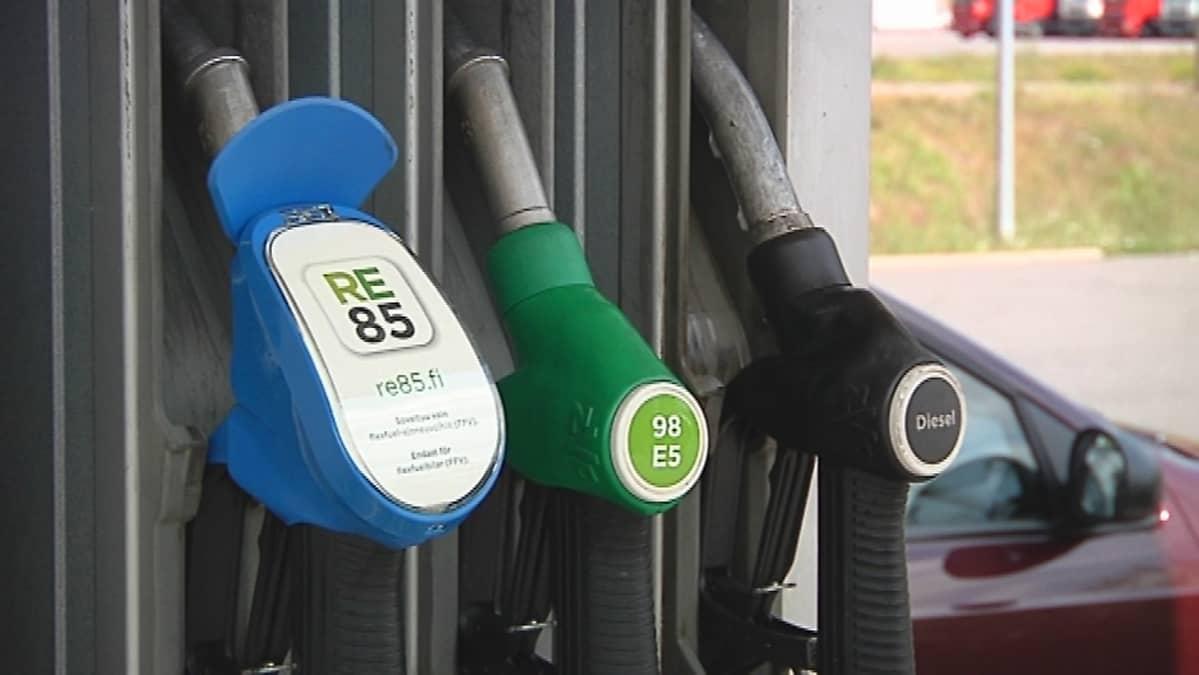 E85 Gas Stations >> E85 Levittaytyy Huoltoasemille Yle Uutiset Yle Fi