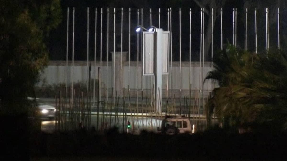 Öinen katu Tripolissa.
