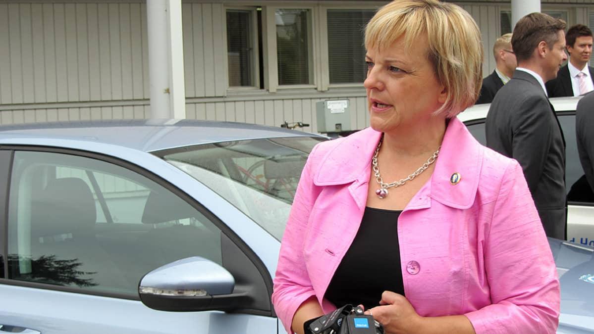 Maija Saarenpää Tornion Sairaskotisäätiöstä