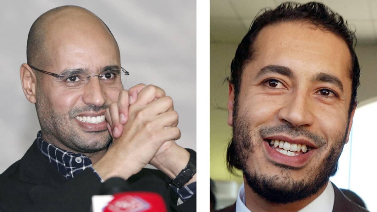 Saif al-Islam Gaddafi  ja Saadi Gaddafi