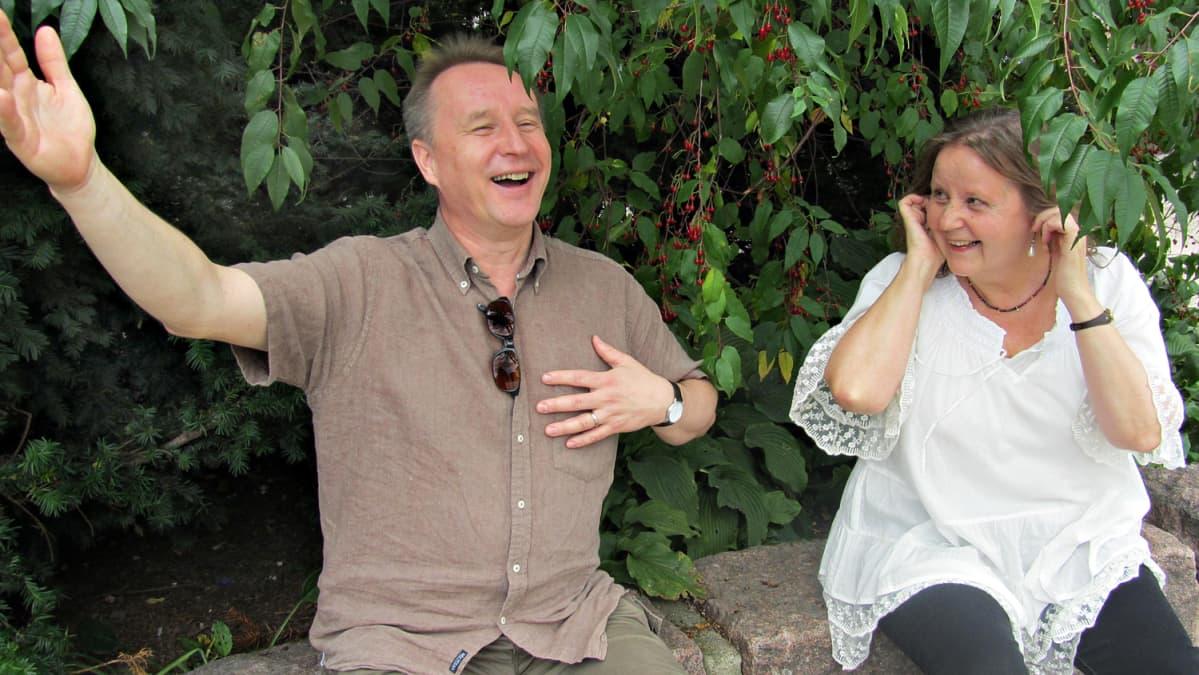 Antti Vihinen ja Maija Pietikäinen