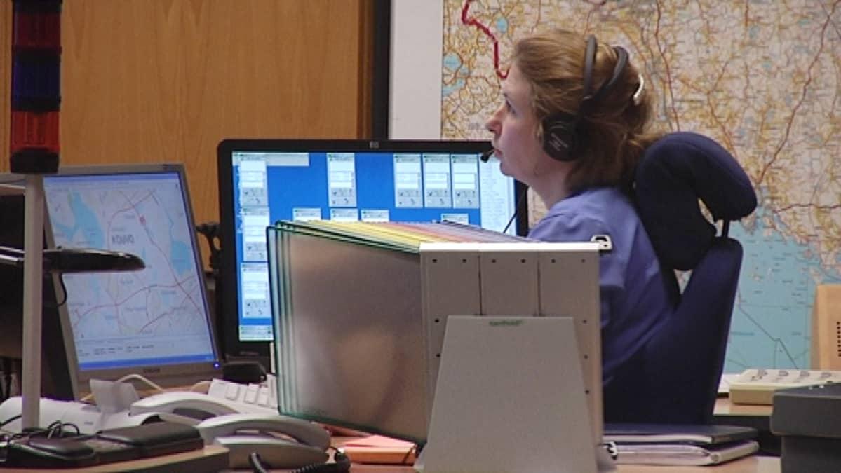 hätäkeskuspäivystäjä, hätäkeskus