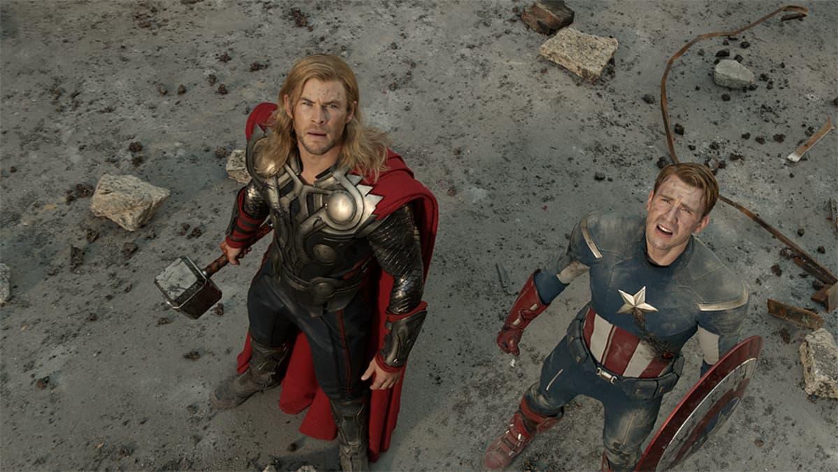 Kuva elokuvasta The Avengers.