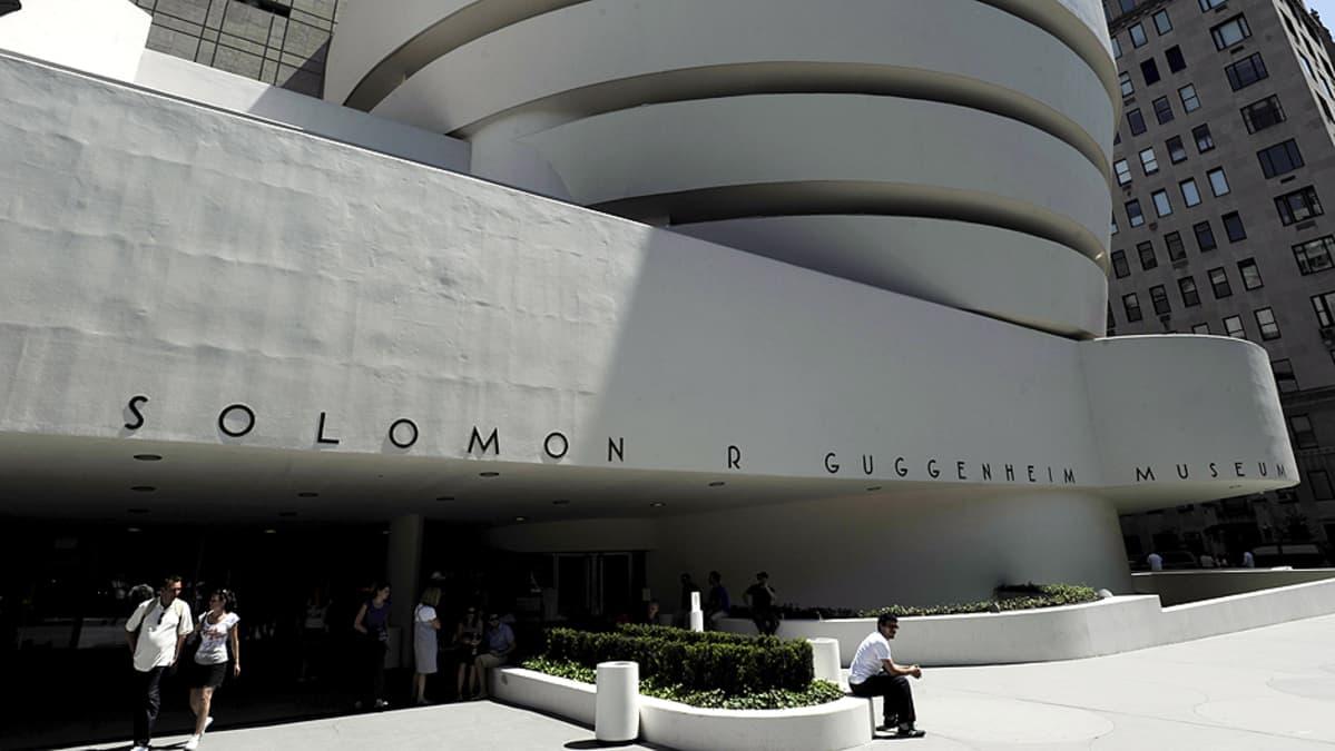 Guggenheim-museo New Yorkissa.
