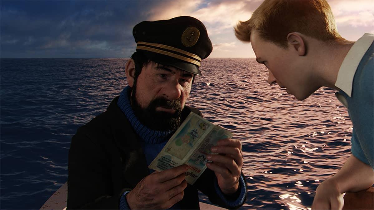 Kuva elokuvasta Tintin seikkailut: Yksisarvisen salaisuus