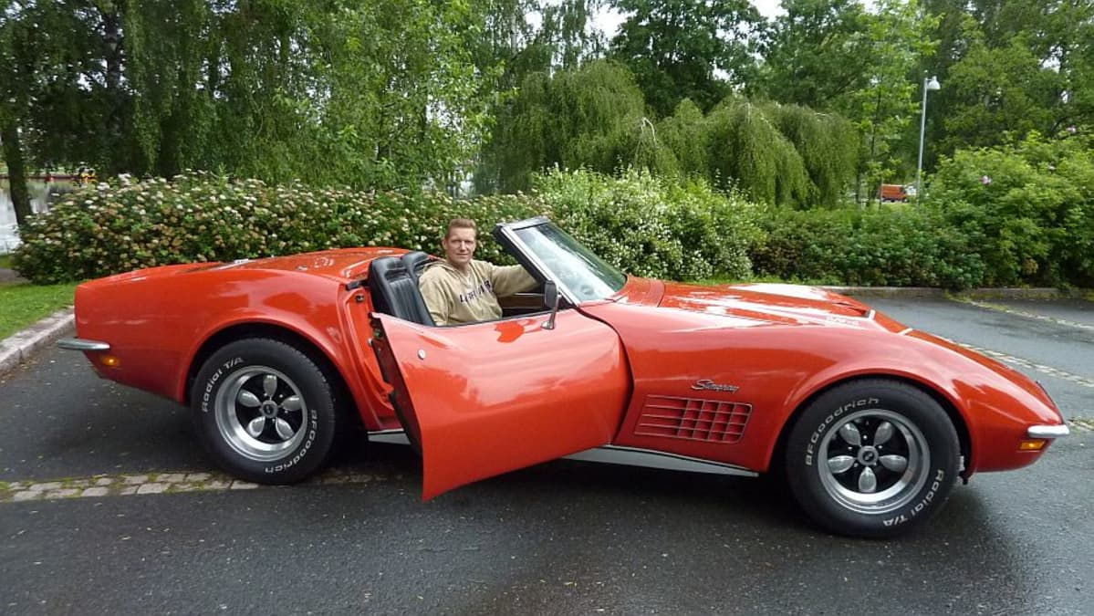 Jarkko Rannelma ja Corvette