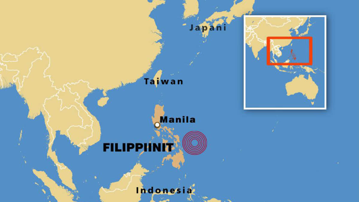 Filippiineille Iskeytyi Matala Tsunami Uusia Saattaa Olla Tulossa