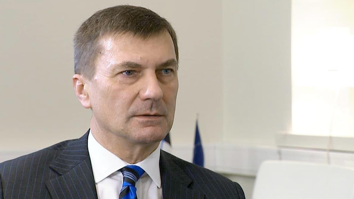 Viron pääministeri Andrus Ansip.