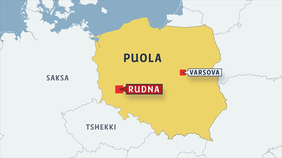 18 Kaivosmiesta Loukussa Kuparikaivoksessa Puolassa Yle Uutiset
