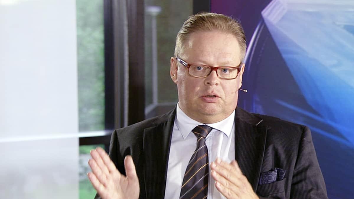 Valtion taloudellisen tutkimuskeskuksen ylijohtaja Juhana Vartiainen.
