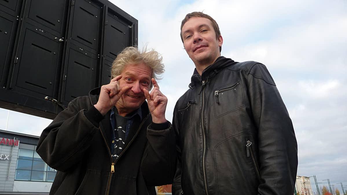 Jaakko Heikkilä ja Juha Åman