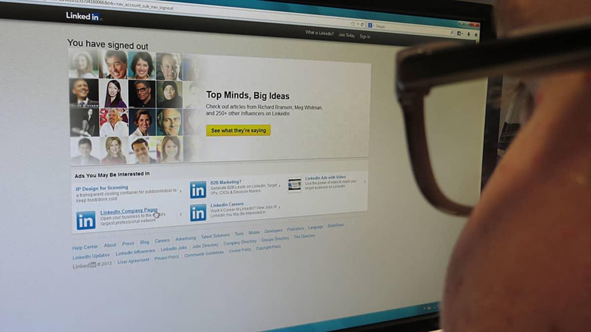 Sosiaalinen media, Linked in