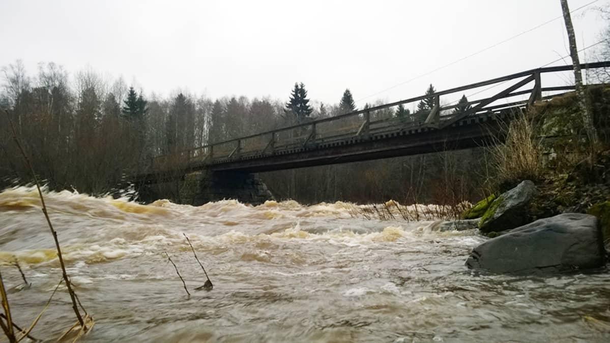 Kurikan Jyllinkoski 25. joulukuuta.