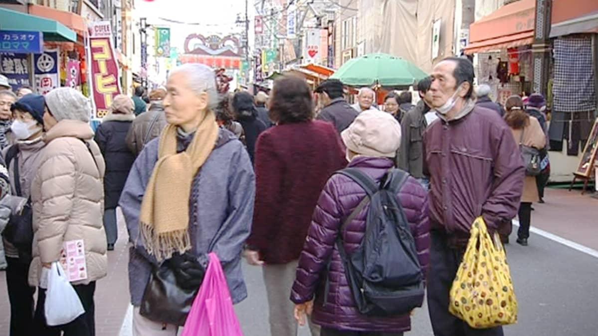 Japanilainen kylä suku puoli