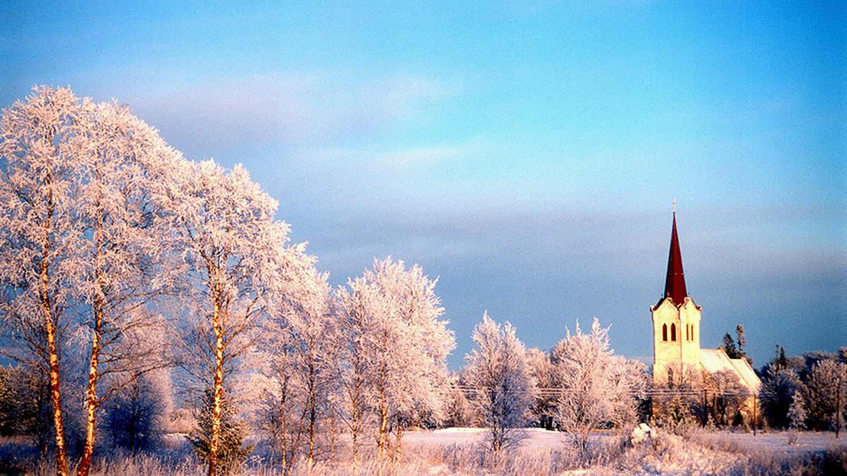 Jõelähtmen kirkko Pohjois-Virossa.