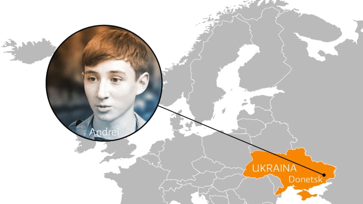 Andrei, Donetsk Ukraina