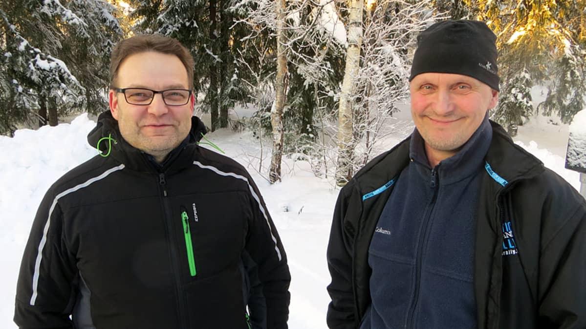 Jouni Lappalainen ja Ilkka Suhonen