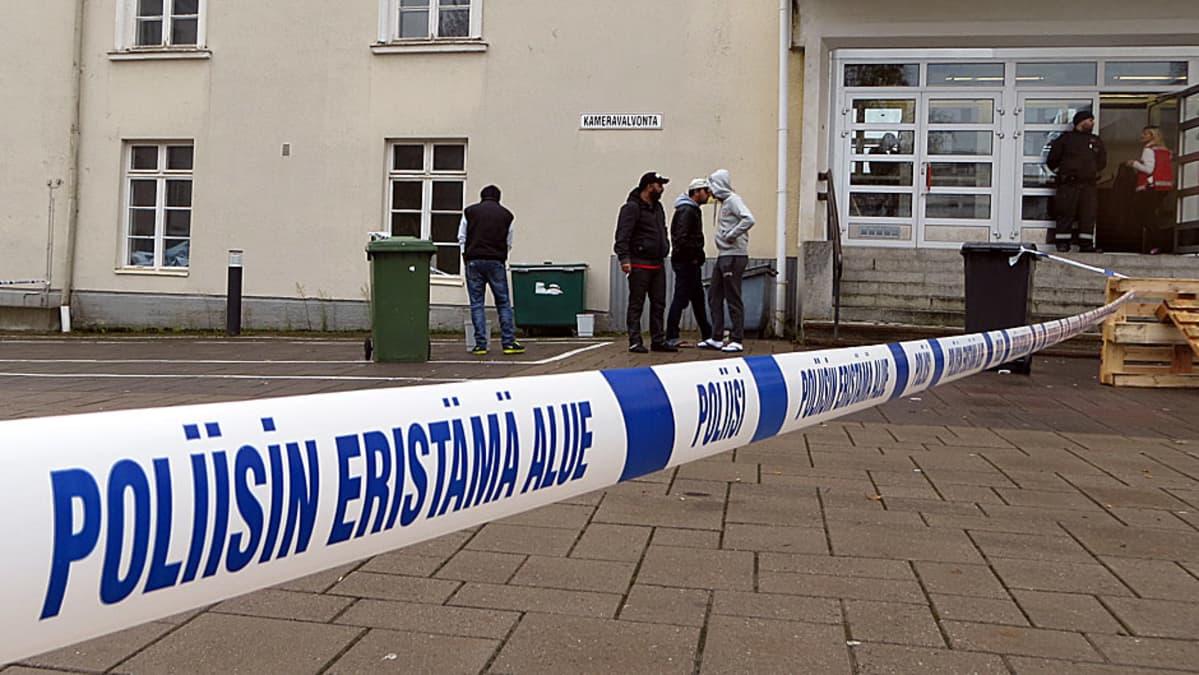 järjestelykeskus, Tornio, turvapaikanhakija, poliisi, viranomainen