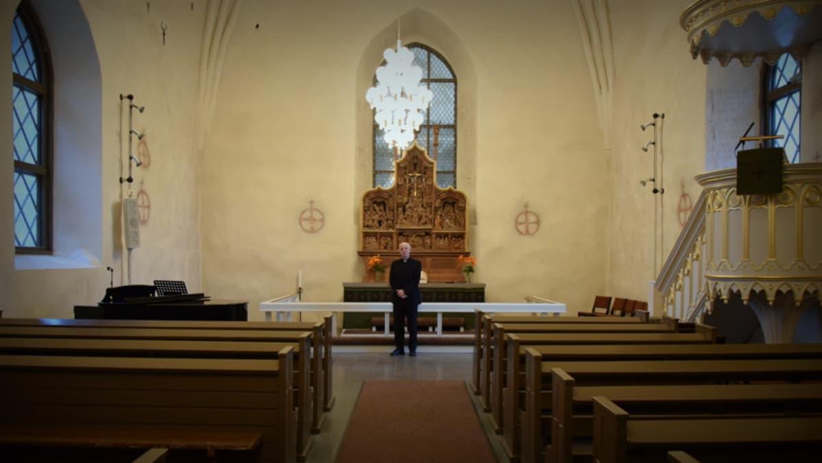 Reijo Sillanpää Vanajan kirkossa