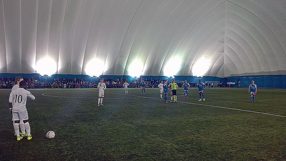 PS Kemi ja Rops pelasivat 1-1 tasapelin liigacupin ottelussa Kemin Junkohallissa.