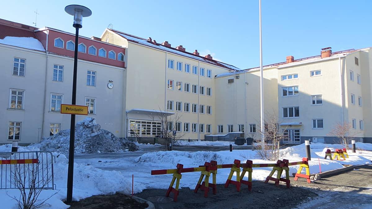 Tornion järjestelykeskus 18.3.2016.