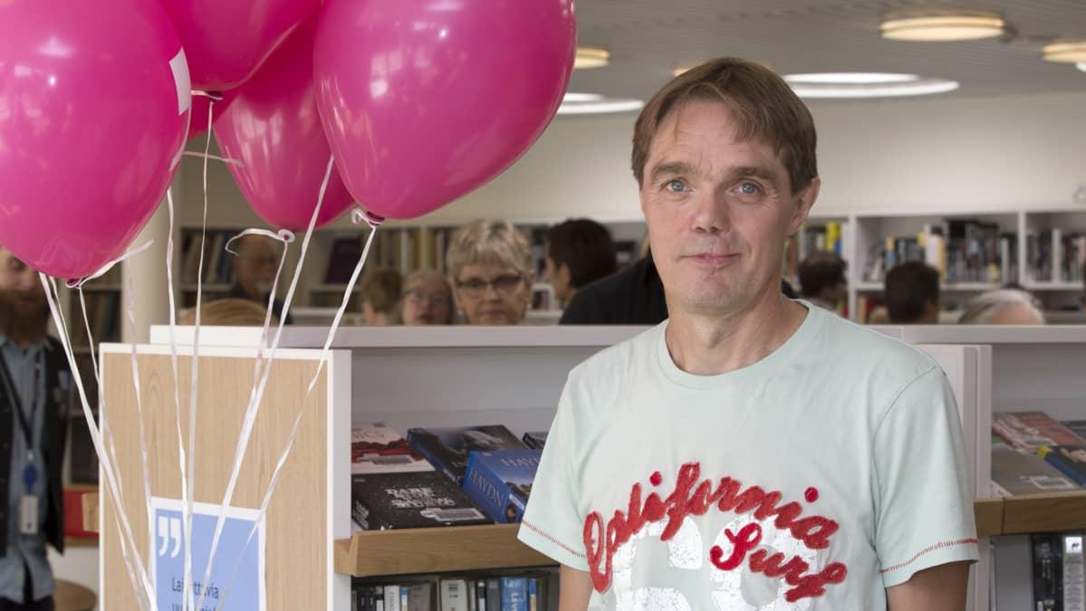 Jyri Kallio on musiikin suurkuluttaja.