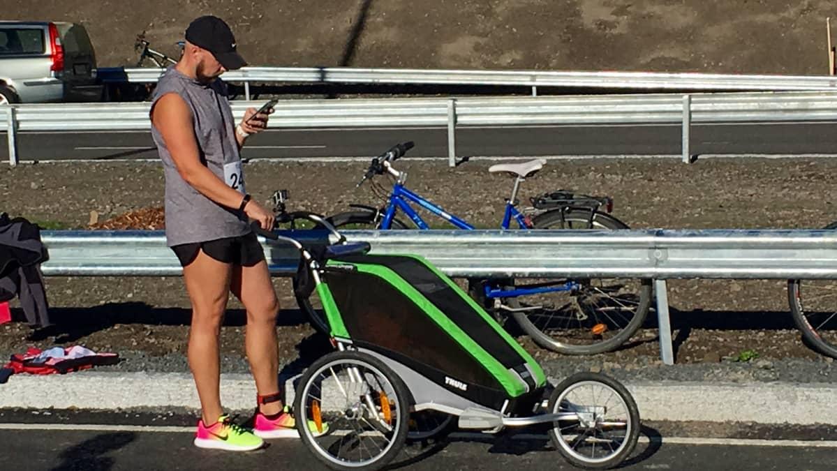 Tampereen päivänä Rantatunneli oli avoinna jalankulkijoille ja pyöräilijöille