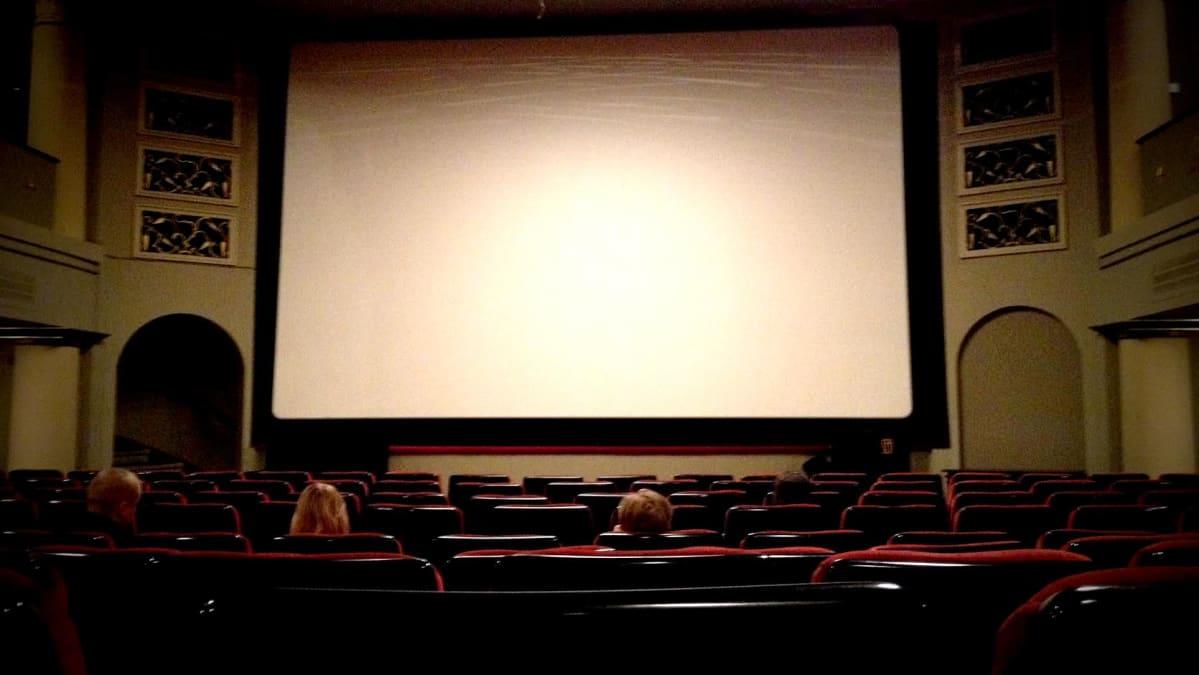 Elokuvateatteri Orion Helsingissä.