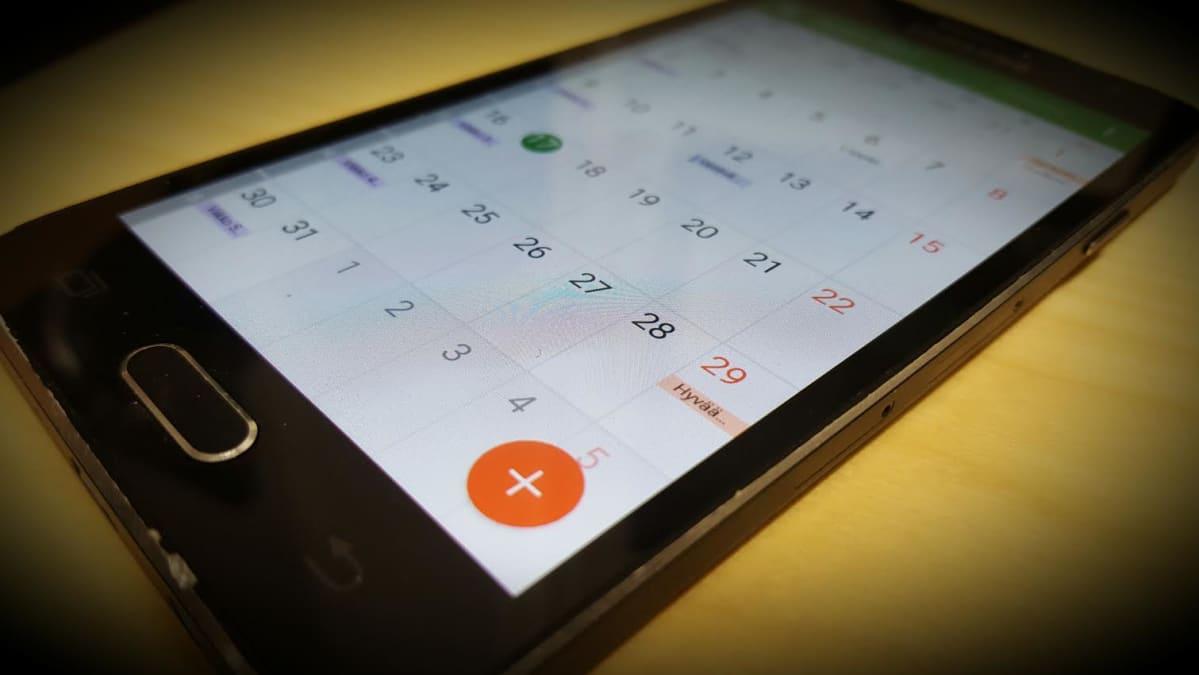 Kännykkäkalenteri