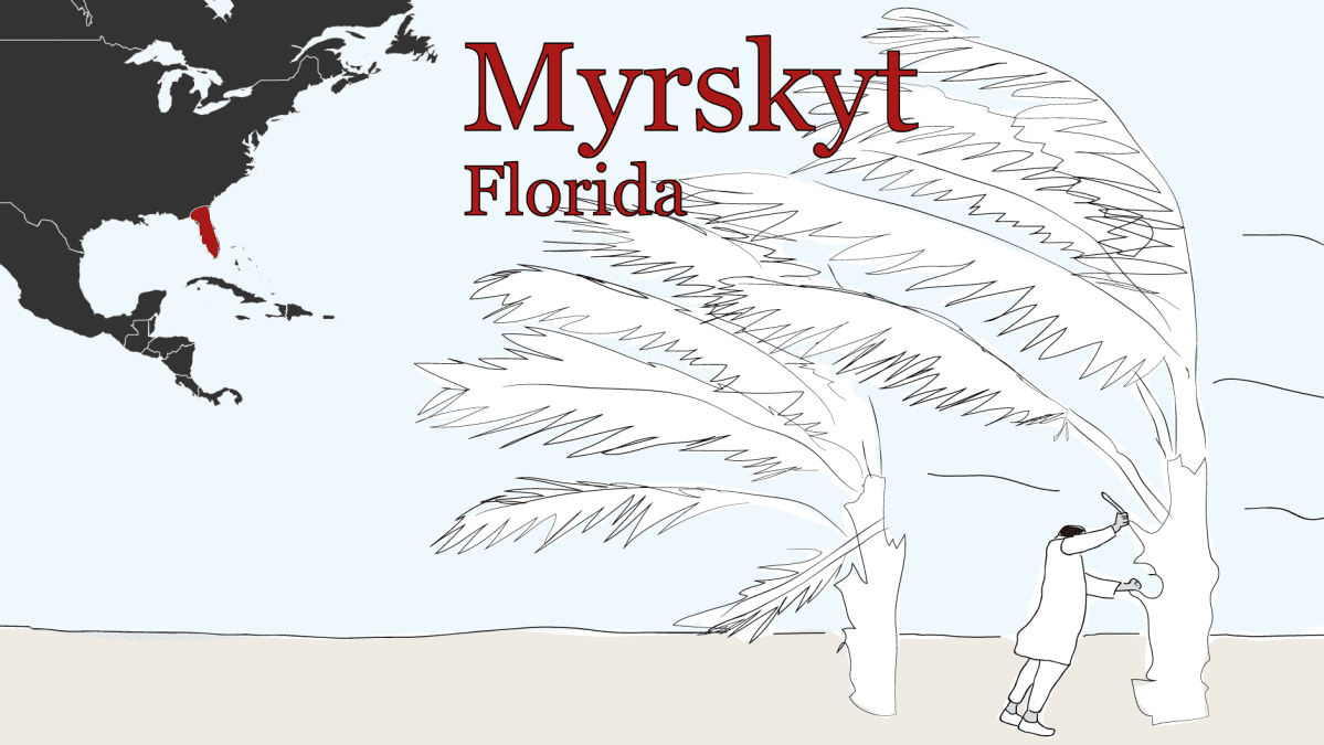 Ilmastopakolaiset myrskyt Florida