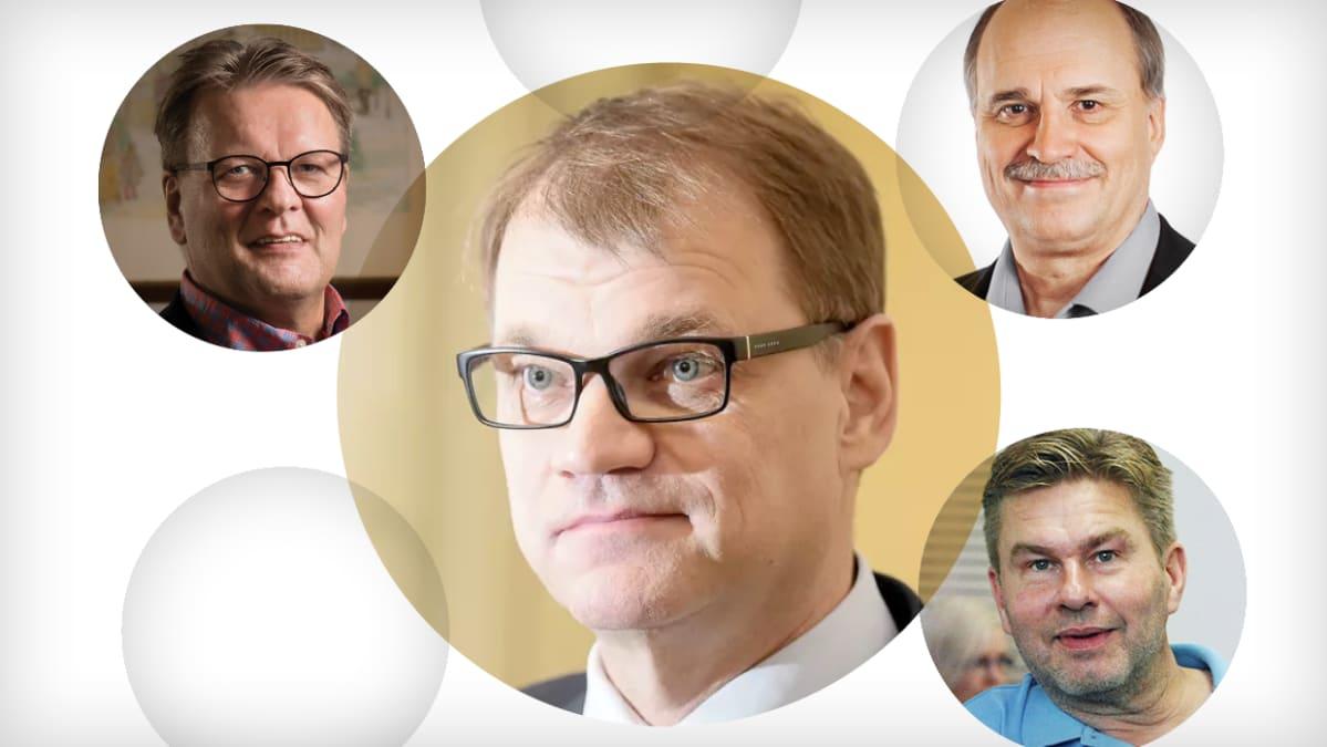 Juha Sipilän sijoituskumppanit.