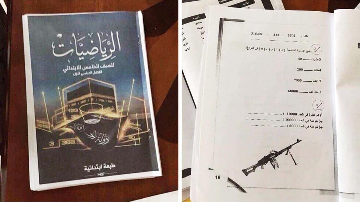 Isisin koulukirjoja.