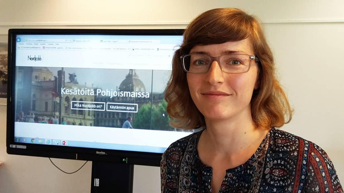Nordjobb Suomen projektivastaava Mira Korhonen