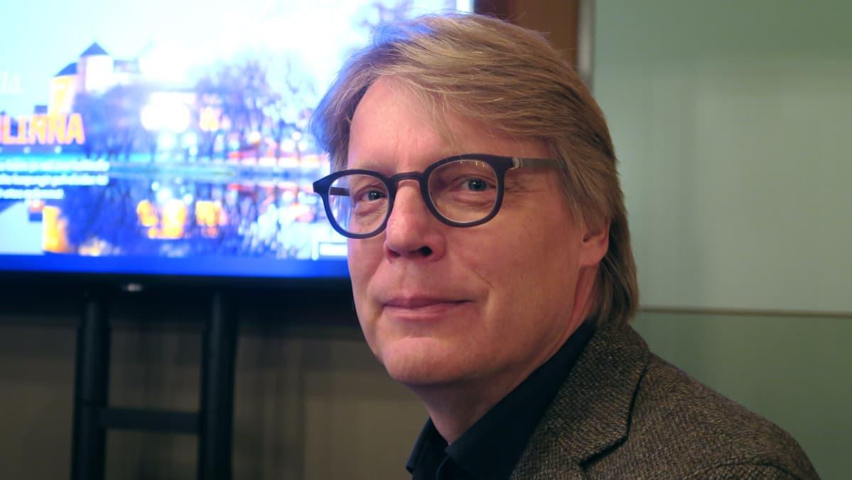 Hämeenlinnan Pysäköinti Oy:n toimitusjohtaja Ari Mielty