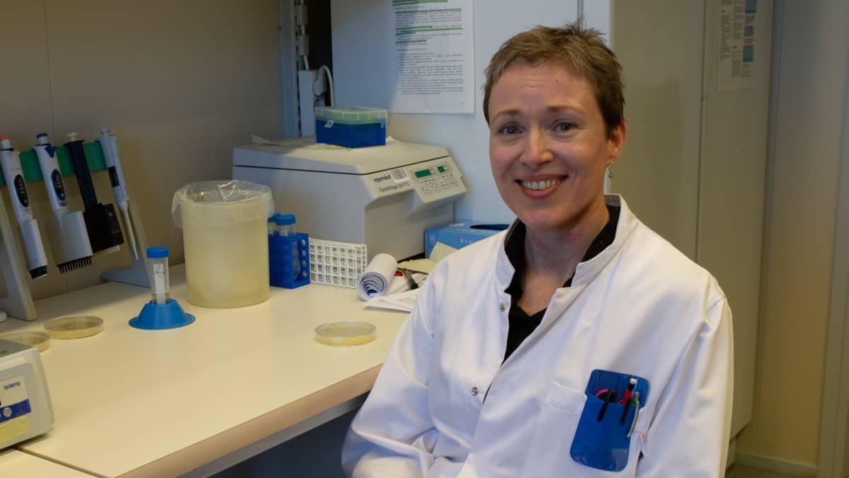 Saija Kiljunen, mikrobigenetiikan dosentti, Turun yliopisto