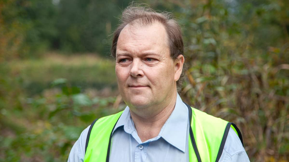 Lappeenrannan seudin ympäristötoimen projektipäällikkö Ville Reinikainen.