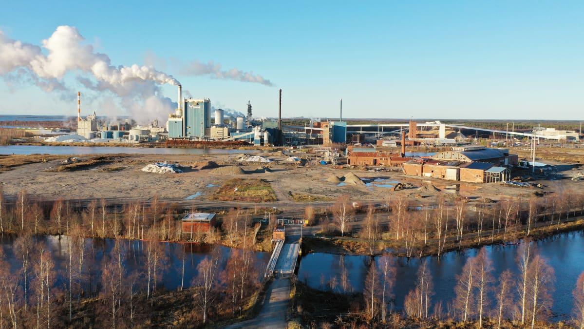 Metsä Groupin Kemin Pajusaaren tehdas