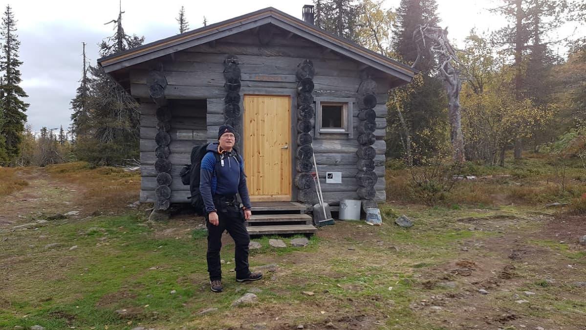 Kadonnut oululainen Pekka Isto, joka on lähtenyt yksin vaeltamaan Pyhä-Luoston kansallispuistoon lauantaina 17.10. 2020.