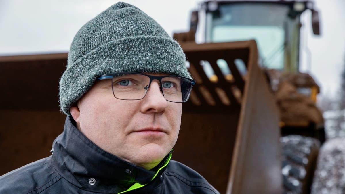 Turveyrittäjä Marko Nummijärvi Kauhajoelta