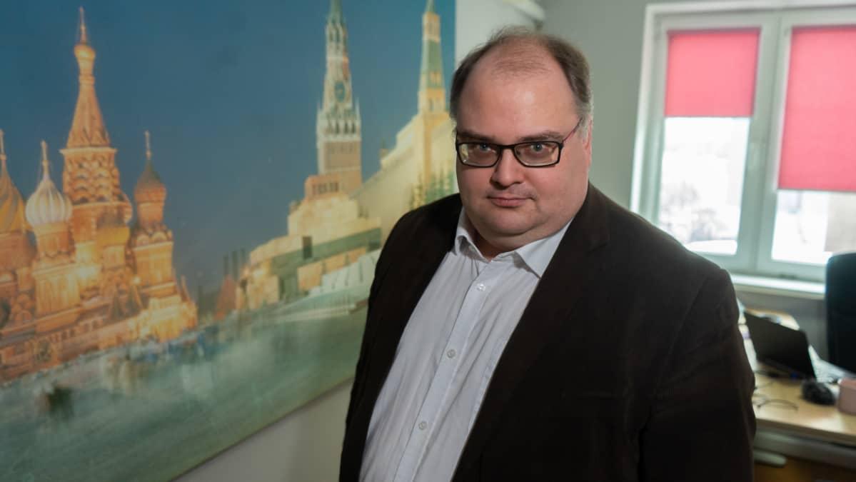 Ylen ulkomaantoimittaja Heikki Heiskanen