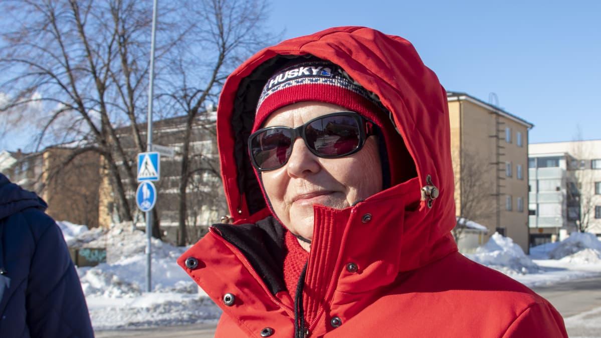 Riitta Saarenen.
