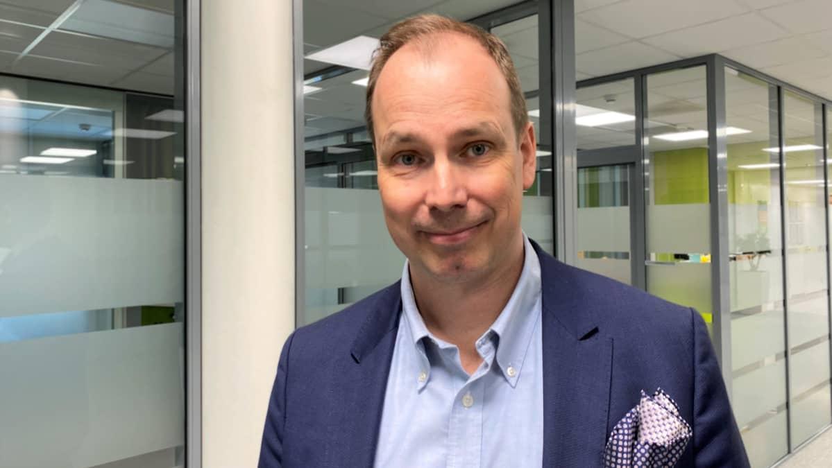 Peikko Groupin toimitusjohtaja Topi Paananen