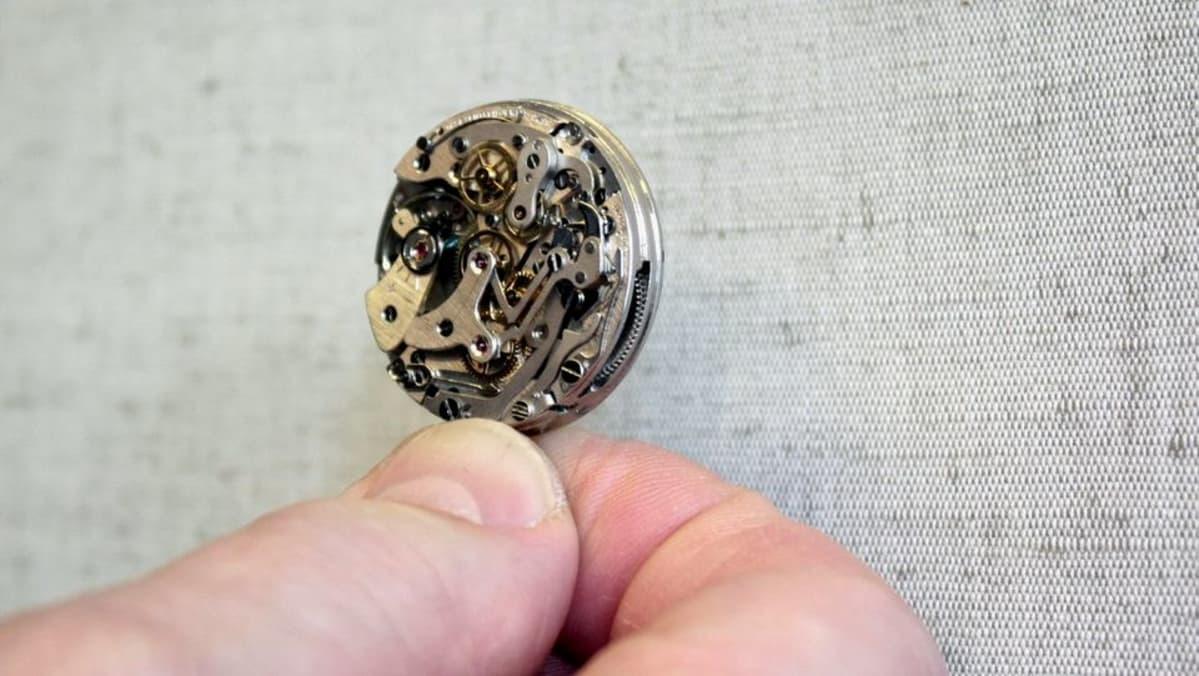 Mekaanista kelloa ei aika riko – kelloseppä elvyttää ... b04e2e5c0a